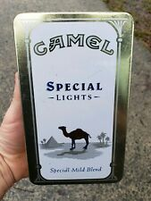 CAMEL SPECIAL LIGHTS TIN 1993 BOOK MATCHES SPECIAL MILD BLEND HINGED TIN