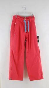 Trespass Women's Shauna Zipper Vented Ski & Snowboard Pants Coral Blush Pink Red