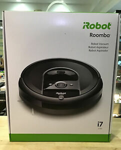 iROBOT ROOMBA  i7 7150 ROBOT VACUUM Wi Fi CONNECTED SMART MAPPING NEW in BOX!!!