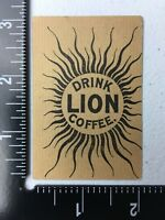 Vintage Drink Lion Coffee Trade Card Oregon State Facts Card