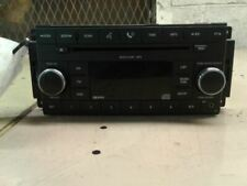 Radio Receiver CD Player 08 2008 Dodge Caravan Part # P05064411AE