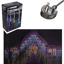 Festive LED Lightshow Projection Christmas Light String Set of 5 - Multi Colour.