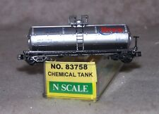 N  Model Power 83758 Brea Chemicals 39' Tank Car #77412