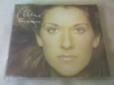 CELINE DION - THAT'S THE WAY IT IS - UK CD SINGLE