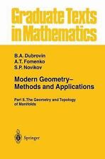 Graduate Texts in Mathematics: Modern Geometry - Methods and Applications Pt. 2