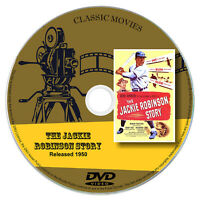 The Jackie Robinson Story 1950 DVD Film Jackie Robinson - Biography Drama Sport