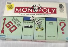 Monopoly Parker Brothers 1999 With Winning Token Moneybag