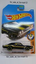 Hot Wheels 2017 #285 '69 Dodge Charger 500 Black Moon Eyes Muscle Mania [ 96 ]