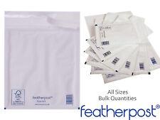 Featherpost bulles rembourré enveloppes Pochettes Sachets Blanc A000 B00 C0 D1 E2 F3