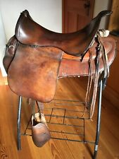 1902 Universal Pattern Saddle Canadian Expeditionary Forces trooper field trials