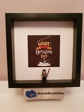 Hermione Granger Harry Potter 3d Frame present What would Hermione do