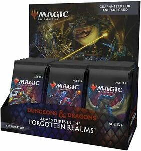 Magic: The Gathering Adventures in the Forgotten Realms Set Booster Box | 30 Pac