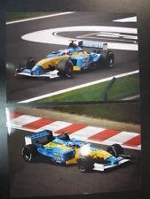 Photo Mild Seven Renault R202 2002 #14 Jarno Trulli (ITA) GP Belgium 2x