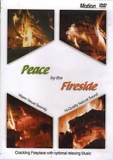 PEACE BY THE FIRESIDE: VIRTUAL FIREPLACE w/RELAXING PIANO MUSIC & NATURAL SOUNDS