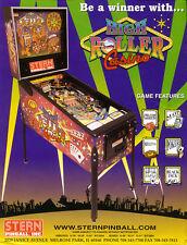 Stern High Roller Casino pinball eprom upgrade set