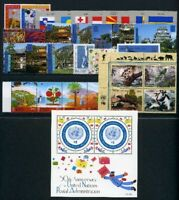 UNO New York kpl. Jahrgang 2001 postfrisch MNH (O975 *