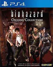 New Sony PS4 Games Biohazard Origins Collection Asia Hong Kong Version