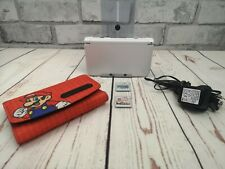*Nintendo 3DS XL - White Super Mario 'Limited Edition' Handheld Console Bundle*