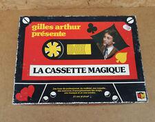 Ancienne boite magie la cassette magique Gilles Arthur Meccano prestidigitation