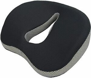 Support sciatica relieve coccyx and coccyx memory foam cushion black cushion