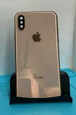 OEM Original Apple iPhone Xs Space BACK REAR HOUSING FRAME GRADE A 9/10