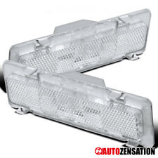 For 85-92 Chevy Camaro Pontiac Firebird Clear Front Side Marker Signal Lights