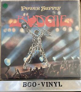 Budgie Power Supply Vinyl LP Record ACT LP1 & Insert EX / EX NICE COPY A1/B1