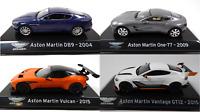 Lot de 4 Voitures de Sport Aston Martin 1/43 IXO Supercars Diecast car SL11
