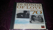 CD 20 Songs of Love from the 70 S-album