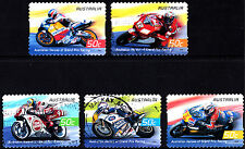 Australia 2004 Heroes of Grand Prix Racing Complete Set of Stamps P Used S/A
