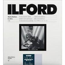 Ilford Multigrade Iv Rc B&W Deluxe Dlx.44 8 x 10 Paper 25 Sheets Pearl ,1168310