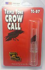 Haydel's Triple Tone Crow Call Turkey Locator Tc-87