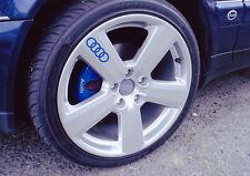 RUOTA in LEGA AUDI Adesivi Decalcomanie A2 A3 A4 A5 A6 A8 TT