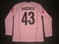 BARZAGLI PALERMO HOME match issued vs ROMA ML-LS 2005-2006 TIM CUP