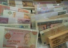 Lot#20 - 17 Pcs Different Countries World Paper Money Set/Lot - UNC From Bundle