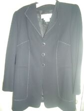 LUSSO Escada Couture Blazer Janker Maritimes JACKET 44/46 np1180, - GOLF CLUB ORO