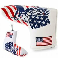 USA Eagle Golf Headcover Putter Cover Club Head Covers Golf Blade Head Cover New