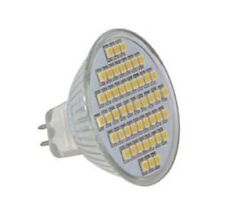 Reemplazo De Halógeno MR16 48SMD/LED 48 SMD MR16-48-W
