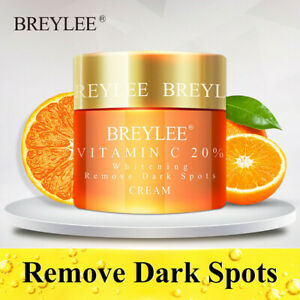 Vitamin C 20% VC Whitening Facial Cream Repair Fade Freckles Remove Dark 40g