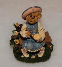 Boyds Bearytales Lil' Miss Muffet.What'S In The Bowl?