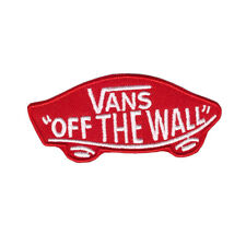 Van's Vans Off The Wall Skateboard Tony Hawk Emo Embroidered Iron On Patch