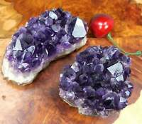 Amethyst - Large Crystal Cluster - Druzy XL Dark Purple Clusters Natural Stone