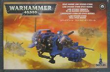 Warhammer 40K: Adeptus Astartes: Space Marine: Land Speeder Storm NEW