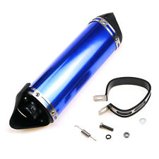 38mm Universal Motorcycle Silence Exhaust Muffler Motocross Clamp For 125cc150cc