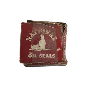 Vintage National Oil Seals 1960 Edsel Mercury Rear Axle Seal Part No. 7744