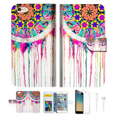 Dream Catcher Wallet  Case Cover For Apple iPhone 6 6S -- A015