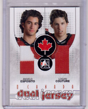 ANGELO ESPOSITO LOGAN COUTURE 07/08 ITG TEAM O CANADA Dual Jersey #DJ-07 Rookie