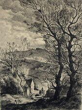 Original-Radierungen (1950-1999) mit Landschafts-Motiv