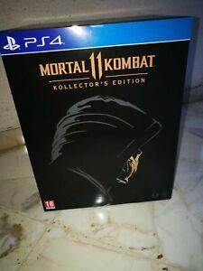 Kollector's edition mortal kombat XI mk mk11 scorpio Kollector Ps4