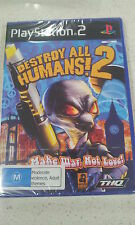 Destroy All Humans 2 PS2 Game PAL (NEW &SEALED)
